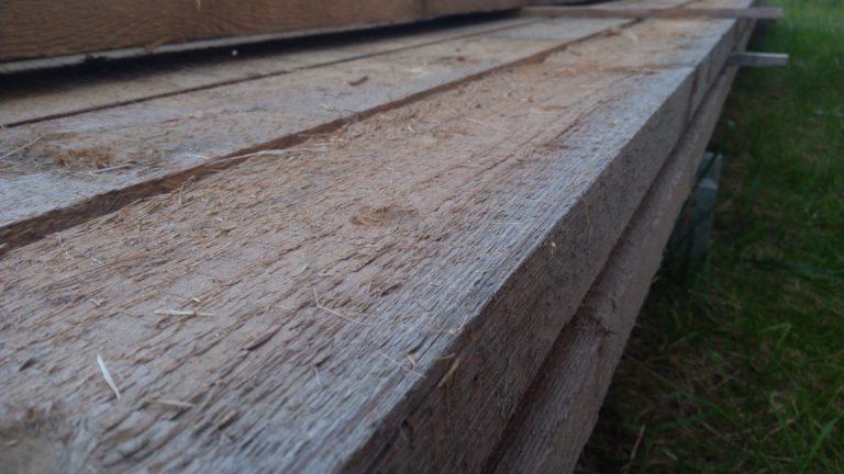 Drewno konstrukcyjne - struganie