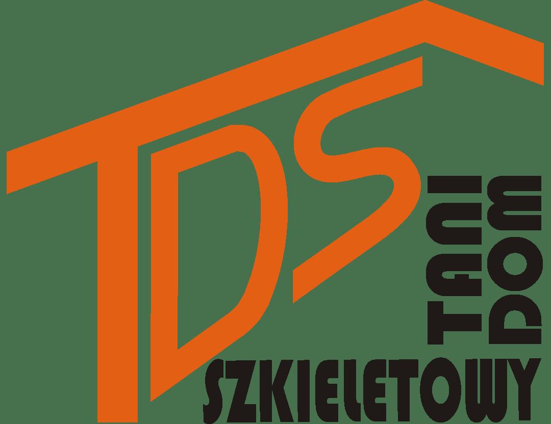 Tani Dom Szkieletowy - logo z napisem